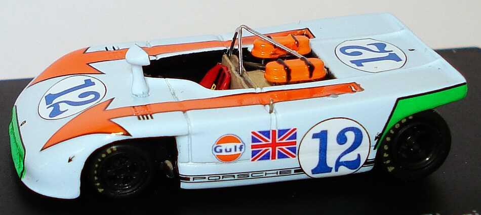 Foto 1:87 Porsche 908/3 Targa Florio 1970 Gulf Nr.12 Jo Siffert / Brian Redman (Siegerfahrzeug) Spark 87S035