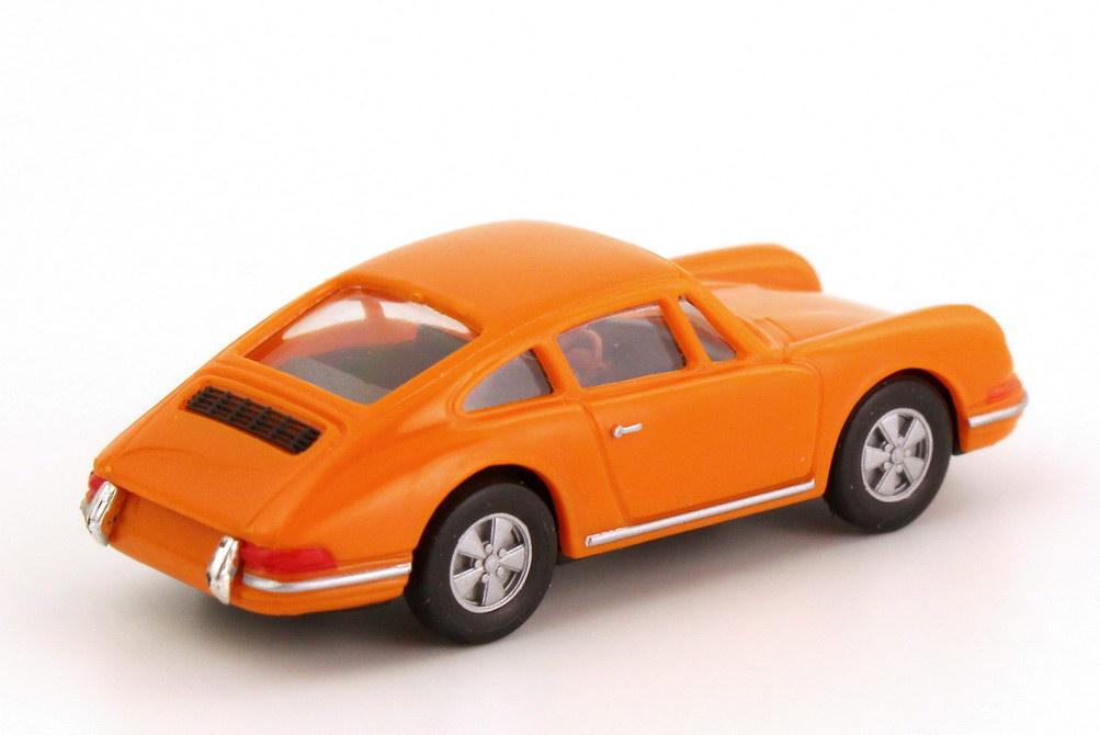 Foto 1:87 Porsche 911 S orange herpa 022408