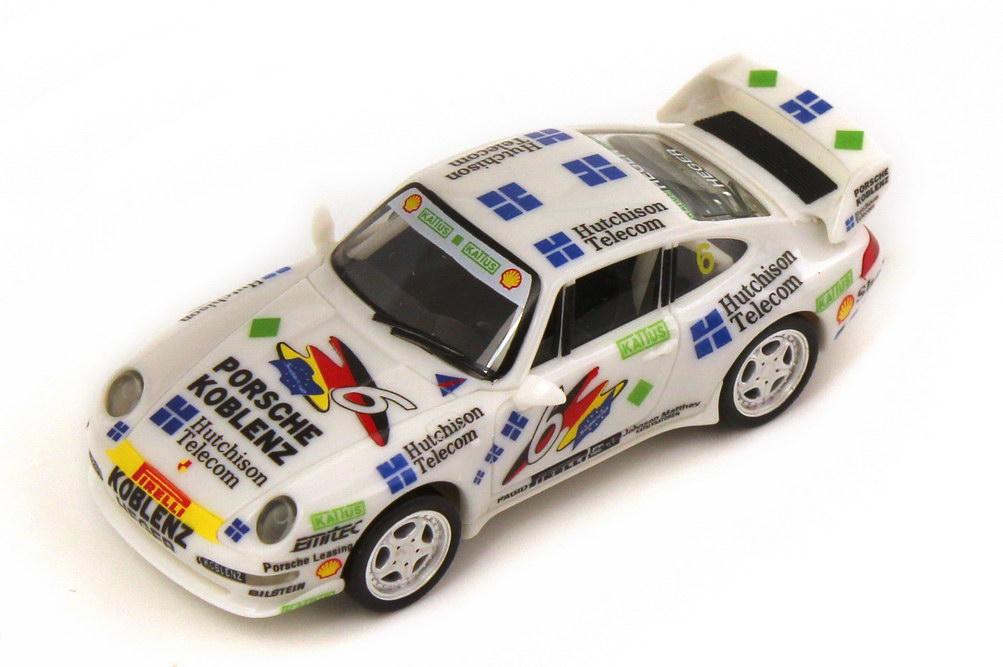 Foto 1:87 Porsche 911 RS Clubsport 993 PSC 1995 PZK Racing Hutchinson Nr.6 Altfried Heger - herpa 036702