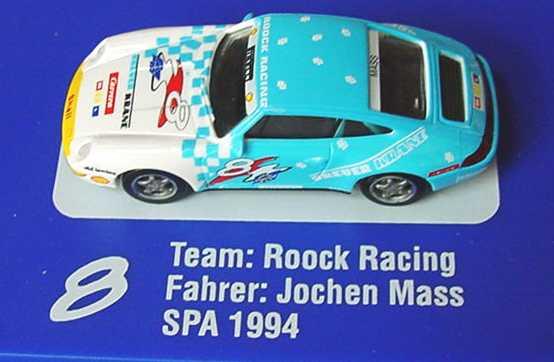 Foto 1:87 Porsche 911 (993) Roock Racing, Breuer Krane Nr.8, Jochen Mass euromodell 01307