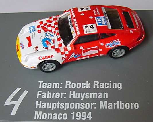 Foto 1:87 Porsche 911 (993) Roock Racing, Marlboro Nr.4, Huysmann euromodell 01305
