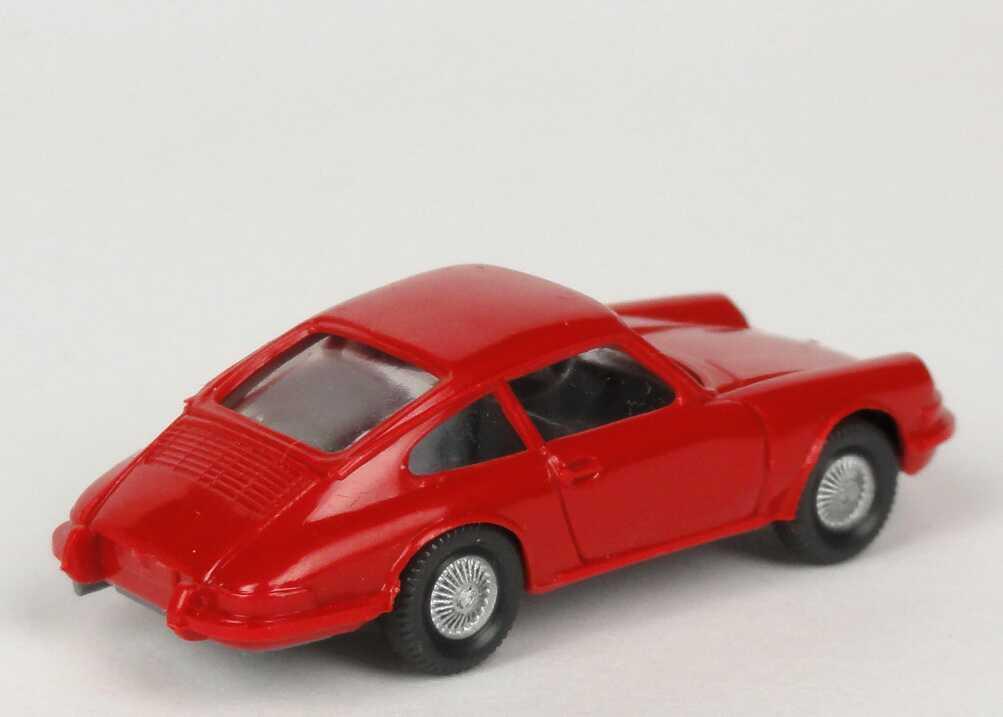 Foto 1:87 Porsche 911 C rot (Felgen silbern) Wiking 160