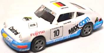 Foto 1:87 Porsche 911 Carrera 2 Cup-Version Fujitsu, MaxCom Nr.10, Grohs euromodell 00215