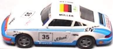 Foto 1:87 Porsche 911 Carrera 2 Cup-Version GTV, s´Oliver Nr.35 euromodell