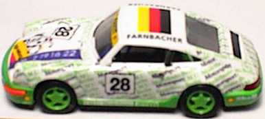 Foto 1:87 Porsche 911 Carrera 2 Cup-Version I.M.U. Nr.28 euromodell