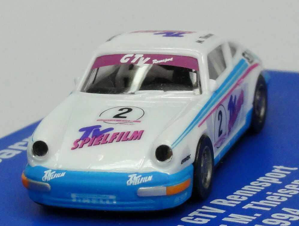Foto 1:87 Porsche 911 Carrera 2 (Cup-Version) PCC ´94 GTV, TV Spielfilm Nr.2, M. Theisen euromodell 01231