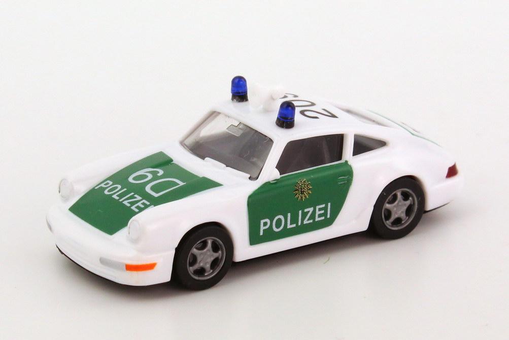 Foto 1:87 Porsche 911 Carrera 2 Cup-Version Polizei BW D9, 209 euromodell 00281