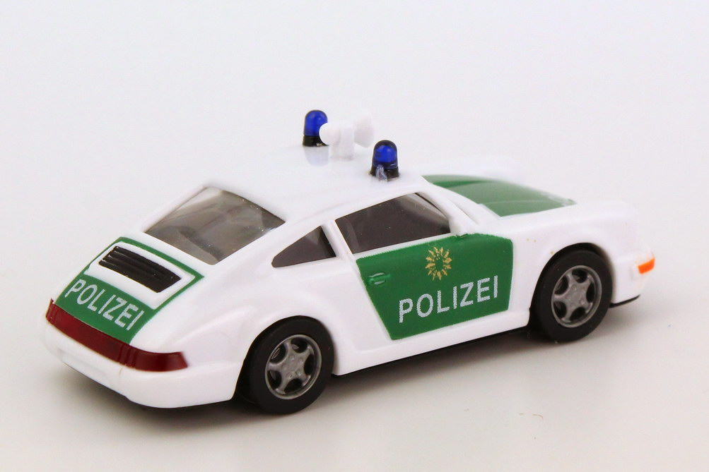Foto 1:87 Porsche 911 Carrera 2 Cup-Version Polizei BW euromodell 00281