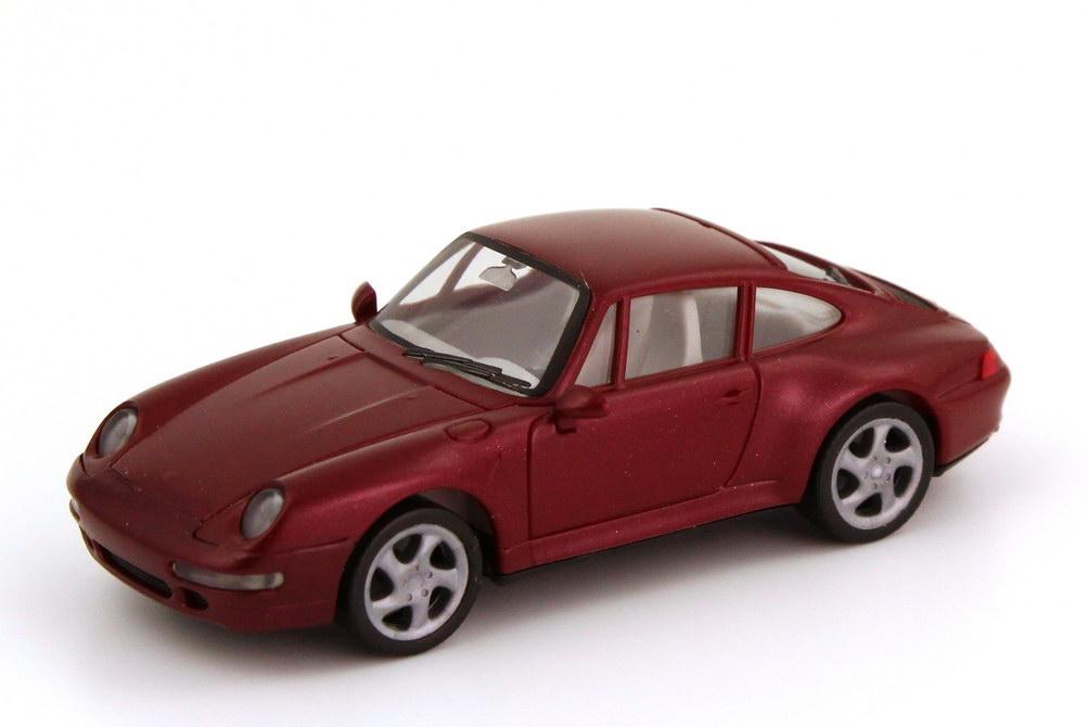Foto 1:87 Porsche 911 Carrera 4S (993) arenarot-met. herpa 031943