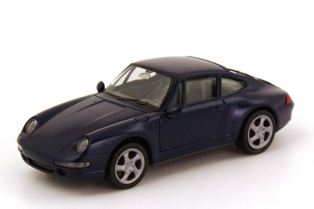 Foto 1:87 Porsche 911 Carrera 4S (993) dunkelblau-met. herpa 031943