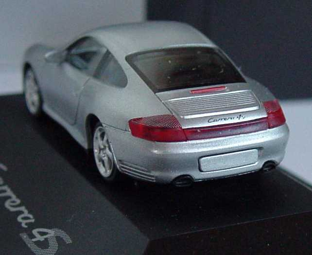 Foto 1:87 Porsche 911 Carrera 4S (996) silber-met. Werbemodell herpa WAP02203712