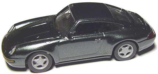 Foto 1:87 Porsche 911 Carrera 4 (993) dunkelgrün-met. euromodell