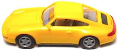 Foto 1:87 Porsche 911 Carrera 4 (993) gelb euromodell