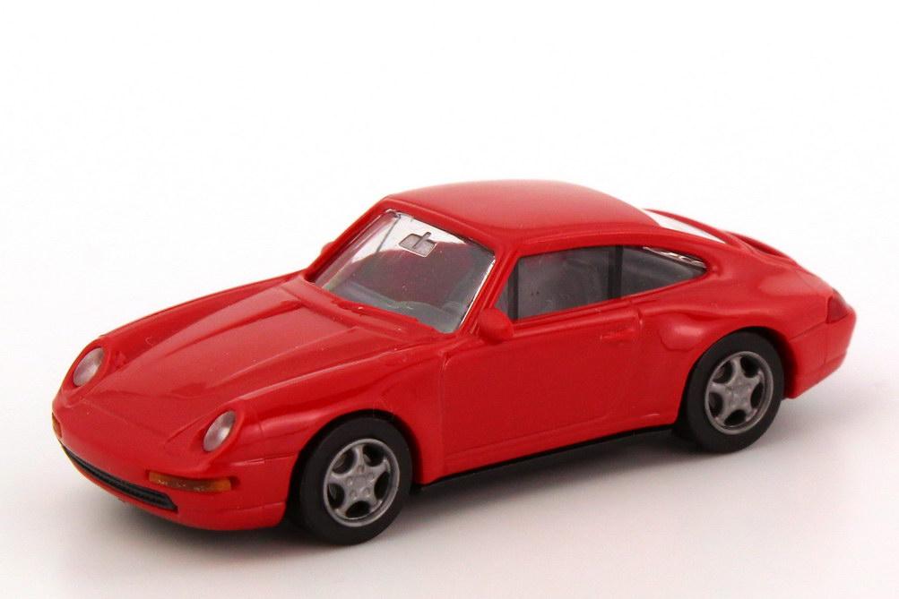 Foto 1:87 Porsche 911 Carrera 4 (993) rot euromodell 00398