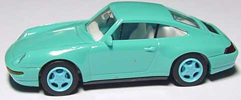 Foto 1:87 Porsche 911 Carrera 4 (993) türkis euromodell