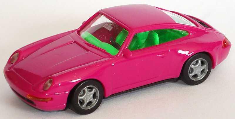 Foto 1:87 Porsche 911 Carrera 4 (993) violett, IA grün euromodell 00361