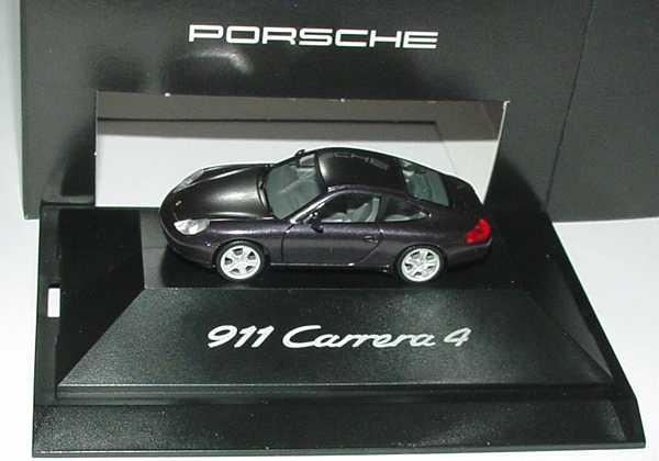 Foto 1:87 Porsche 911 Carrera 4 (996) vesuvio-met. Werbemodell herpa WAP02203199