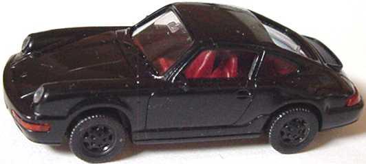 Foto 1:87 Porsche 911 Carrera 4 schwarz Wiking 16401
