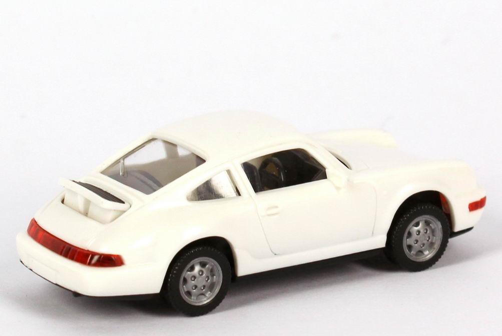 Foto 1:87 Porsche 911 Carrera 4 weiß Wiking 164