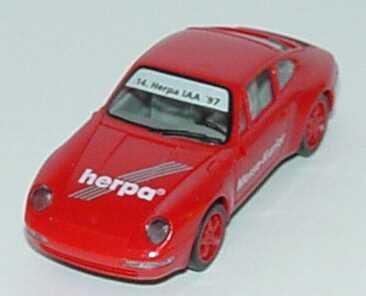 Foto 1:87 Porsche 911 Carrera (993) Herpa Messe-Kurier, 14. Herpa IAA ´97 herpa 227551