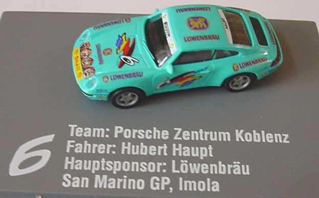 Foto 1:87 Porsche 911 Carrera (993) PC ´94 PZ Koblenz, Löwenbräu Nr.6, Hubert Haupt euromodell 01304
