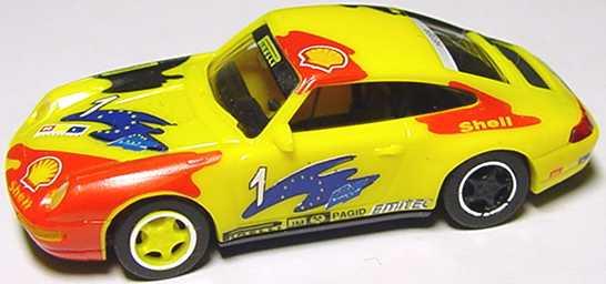 Foto 1:87 Porsche 911 Carrera (993) Pirelli, Shell, RTL Nr.1, Heger euromodell