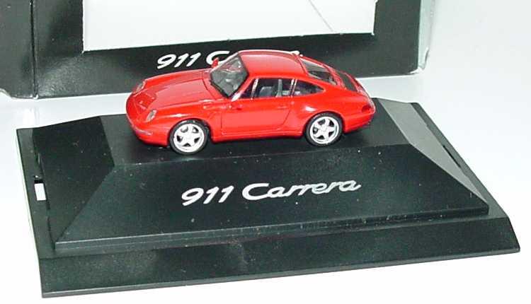 Foto 1:87 Porsche 911 Carrera (993) brillantrot Werbemodell herpa WAP022006