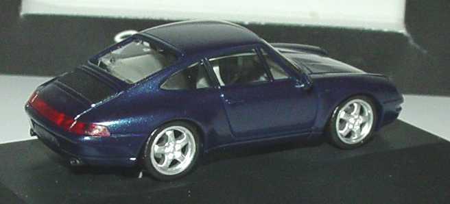 Foto 1:87 Porsche 911 Carrera (993) dunkelblau-met. (Porsche) herpa WAP022005