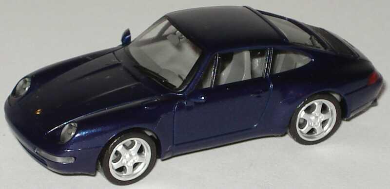 Foto 1:87 Porsche 911 Carrera (993) dunkelblau-met. herpa 032162
