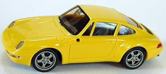 Foto 1:87 Porsche 911 Carrera (993) goldgelb herpa 022163