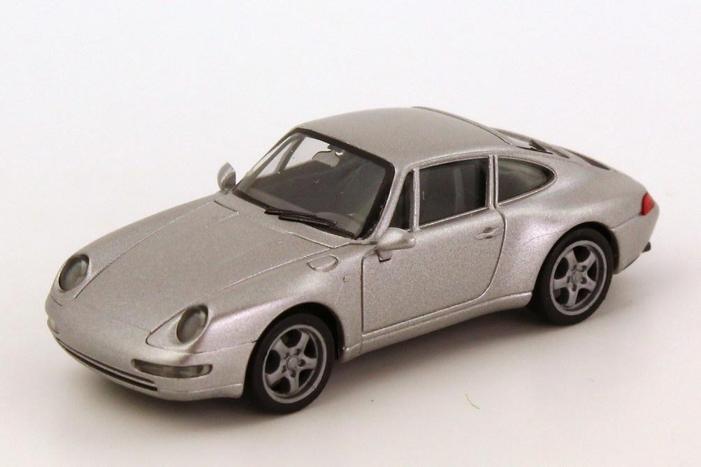Foto 1:87 Porsche 911 Carrera (993) silber-met. herpa 032162
