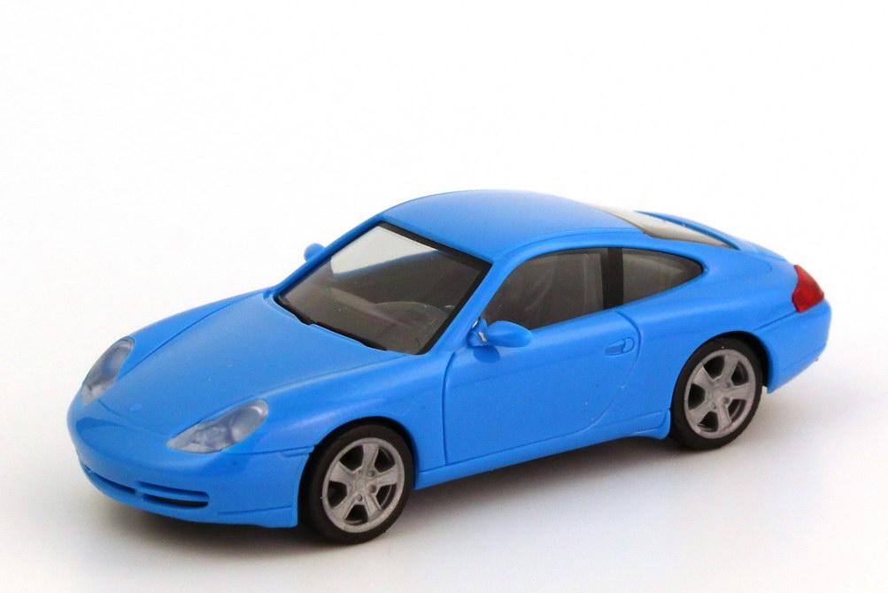 Foto 1:87 Porsche 911 Carrera (996 Facelift) azurblau herpa 022484