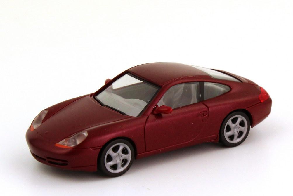 Foto 1:87 Porsche 911 Carrera (996) arenarot-met. herpa 032483