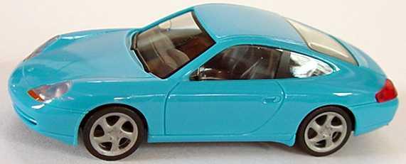 Foto 1:87 Porsche 911 Carrera (996) hellblau herpa 022484