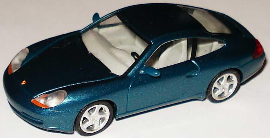 Foto 1:87 Porsche 911 Carrera (996) lagunenblau-met. herpa 101110