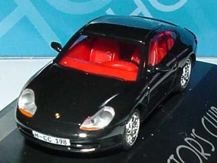Foto 1:87 Porsche 911 Carrera (996) schwarz Collector´s Club ´98 herpa 194150