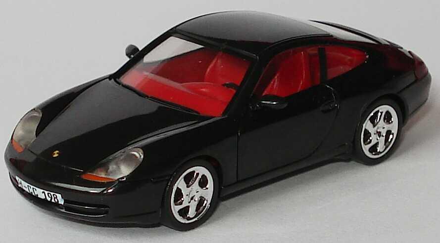 Foto 1:87 Porsche 911 Carrera (996) schwarz Collector´s Club ´98 (ohne PC-Box) herpa 194150