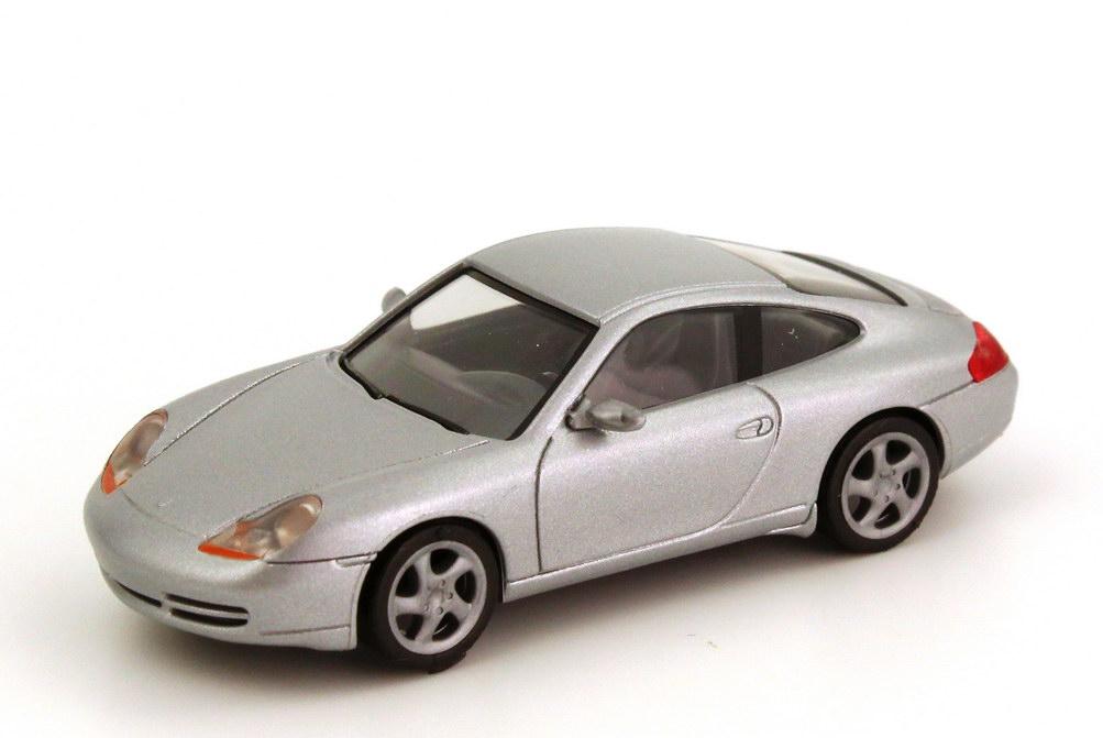 Foto 1:87 Porsche 911 Carrera (996) silber-met. herpa 032483