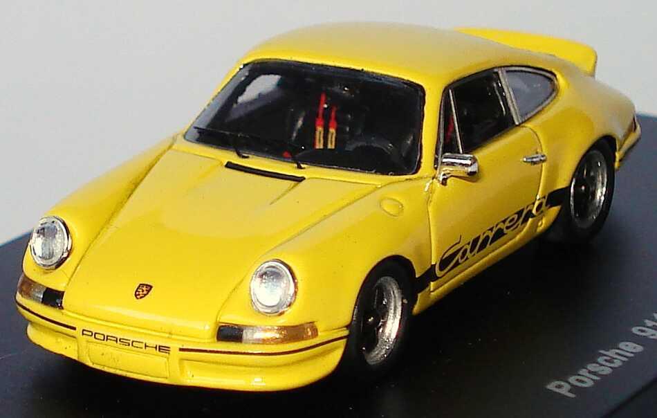 Foto 1:87 Porsche 911 Carrera RS 2,7 gelb/schwarz Spark 87S099
