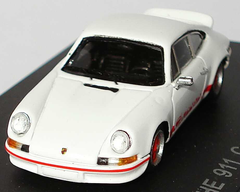 Foto 1:87 Porsche 911 Carrera RS 2,7 weiß/rot Spark 87S011