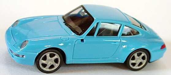 Foto 1:87 Porsche 911 Carrera S (993) azurblau herpa 022231