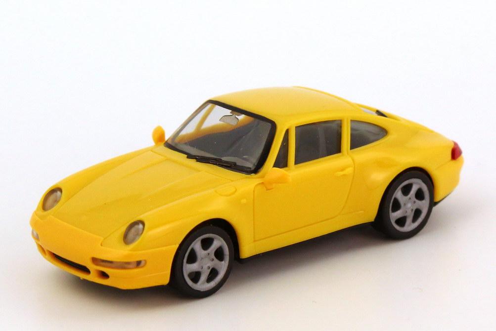 Foto 1:87 Porsche 911 Carrera S (993) gelb herpa 022231/146555