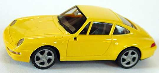 Foto 1:87 Porsche 911 Carrera S (993) gelb herpa 022231