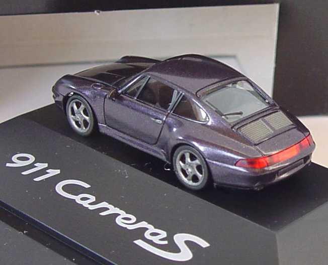 Foto 1:87 Porsche 911 Carrera S (993) violett-met. Werbemodell herpa WAP022014