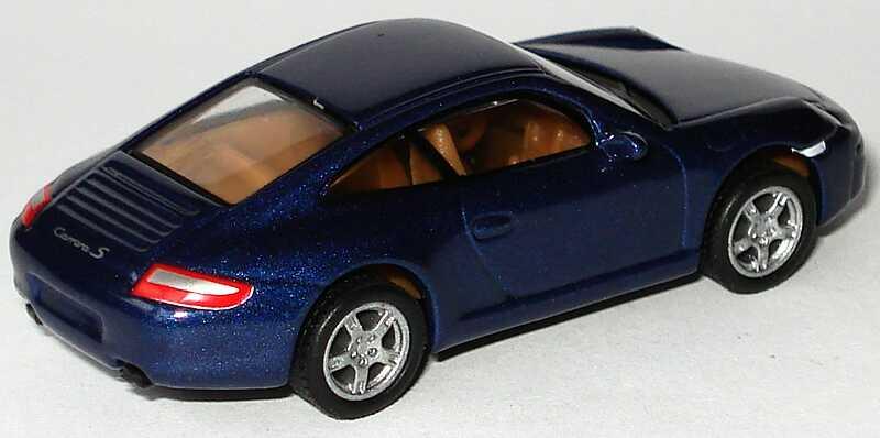 Foto 1:87 Porsche 911 Carrera S (997) dunkelblau-met. Malibu International