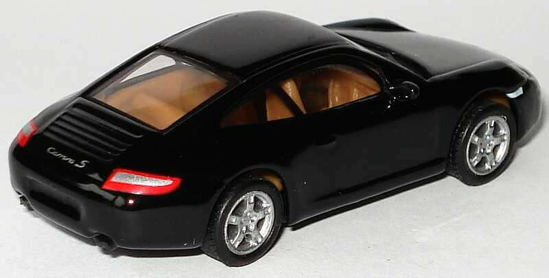 Foto 1:87 Porsche 911 Carrera S (997) schwarz Malibu International