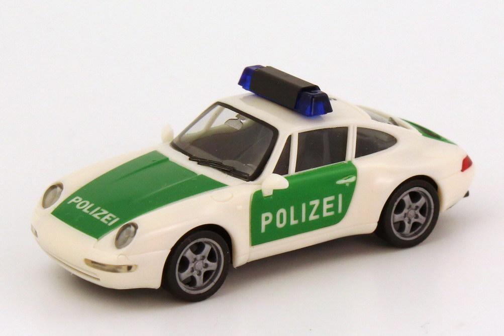Foto 1:87 Porsche 911 Carrera (993) Polizei D5/911 herpa 185592