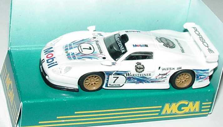 Foto 1:87 Porsche 911 GT1 ´97 Mobil 1 Nr.7, Dalmas/Wollek MGM 0012