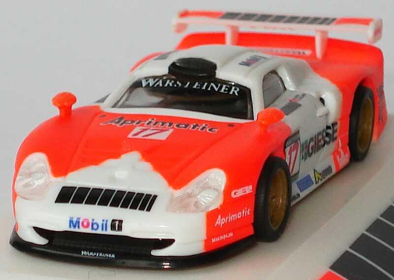 Foto 1:87 Porsche 911 GT1 FIA GT 1997 Marlboro (zensiert), JB Racing Nr.17, Baldi / Collard (Mugello 4 Hours) MGM 4015p