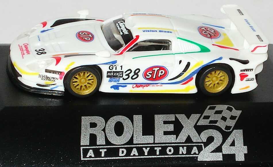 Foto 1:87 Porsche 911 GT1 Rolex 24 At Daytona 1998 Champion Motors, STP Nr.38, Boutsen / Pilgrim / Kelleners MGM 4017p